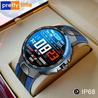 smart clock men women ip68 water density bluetooth 50 24 exercise modi smartwatch e1 5 heart rate monitoring for android iosr