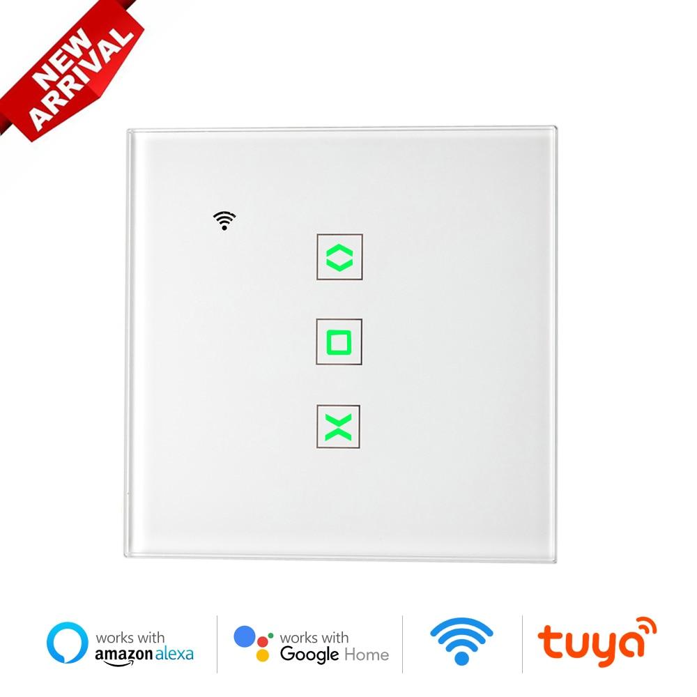 Tuya Smart WiFi рольставни жалюзи переключатель для электрического занавеса приложение Дистанционное Управление синхронизации Google Home Alexa Siri кома...