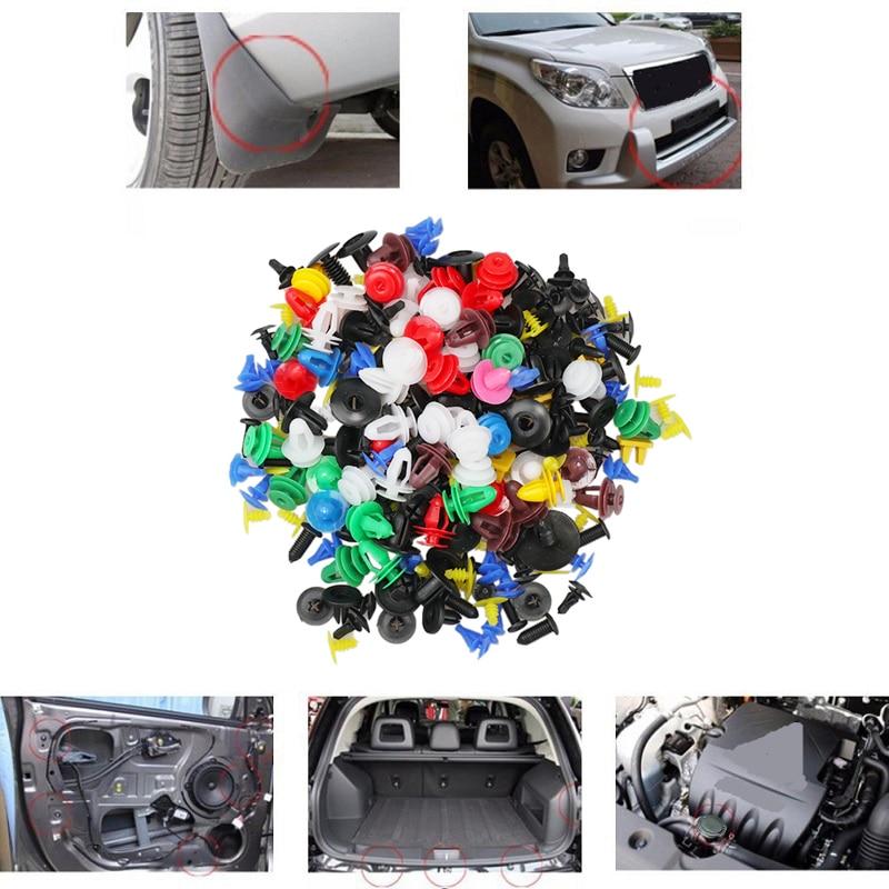 new car Fastener Random Mixed Bumper Clips Retainer FOR Mercedes-Benz X166 X253 W166 C292 X204 GLK Car Accessories