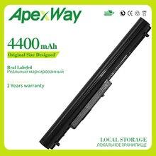 Apexway 4400mAh 8Cells LA04 Laptop Battery For HP Pavilion 14-N275TX 14-R030TX G6G36PA 248 G1 350 G1/G2 LA04DF 728460-001