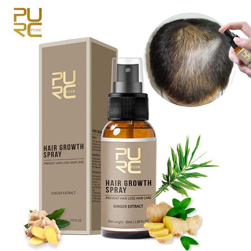 PURC Hair Growth Products Fast Growing Hair Oil Hair Loss Care Spray Beauty Hair & Scalp Treatment f