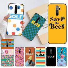 HPCHCJHM Golf Wang Tyler créateur impair futur coque de téléphone Santa Cruz pour Redmi Note 8 8A 7 6 6A 5 5A 4 4X 4A Go Pro Plus Prime