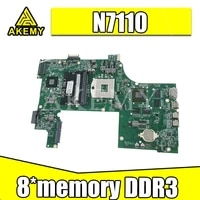 Laptop motherboard For DELL N7110 PC Mainboard 09NWTG DAV03AMB8E1 full tesed DDR3