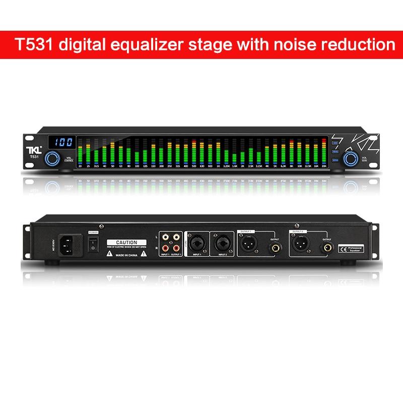 Ecualizador Digital De 31 bandas, equipo Profesional De sonido para escenario y...