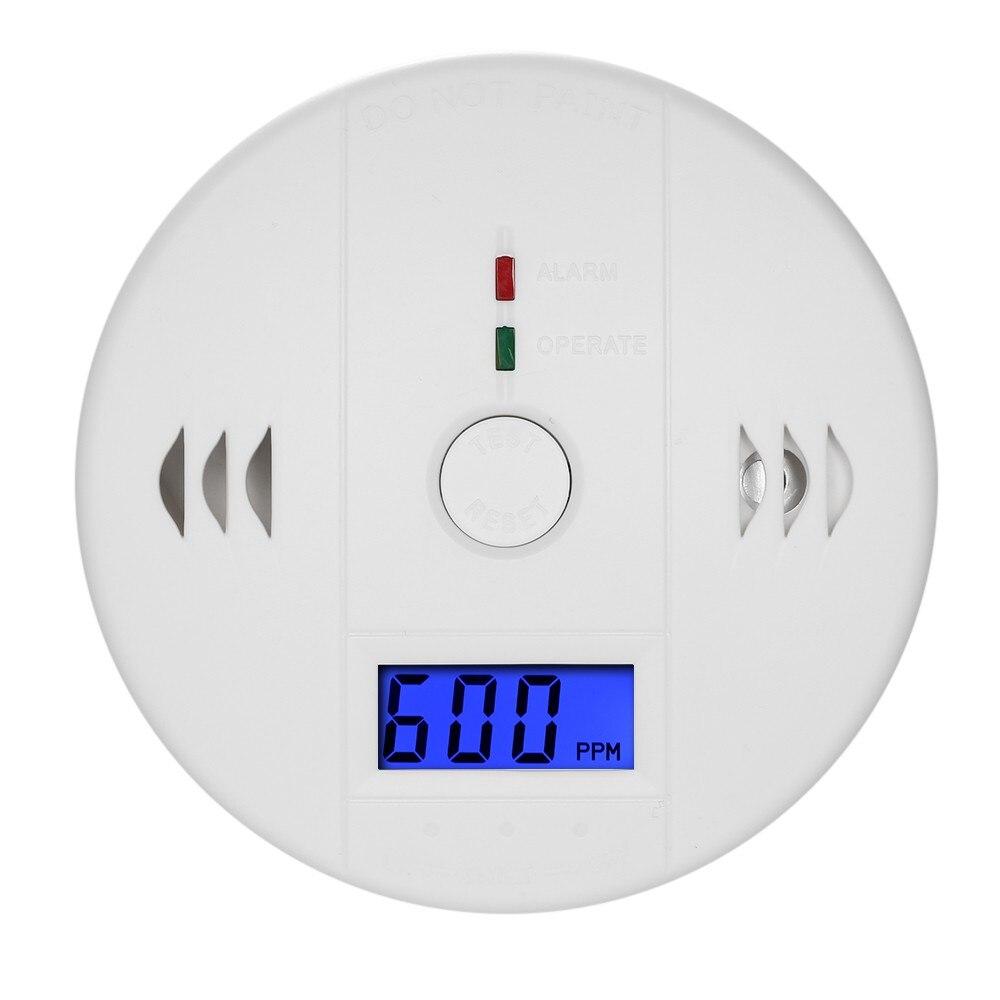 Kohlenmonoxid-detektor Unabhängige CO Gas Sensor LCD Display 85dB Warnung Alarm