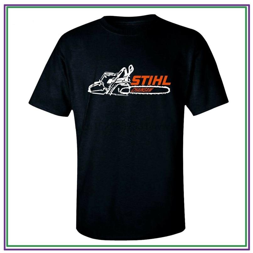 Stihl camiseta motosierra Camiseta Hombre Ropa negro tamaño S-2Xl camiseta de alta calidad