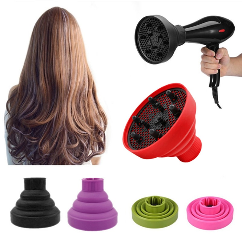 Universal Hair Curl Diffuser Cover Diffuser Disk Hairdryer Curly Drying Blower Hair Curler Styling T