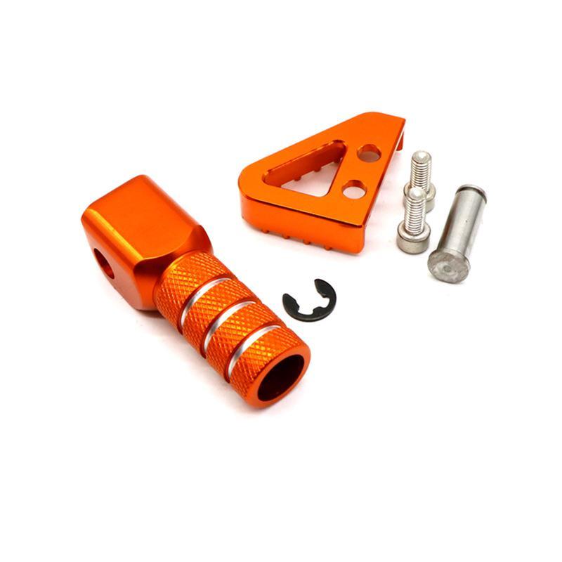 Rear Brake Pedal Step Gear Shift Lever Top Motorcycle Motorbike Orange Foot Fittings For KTM 125 530 duke 690 990