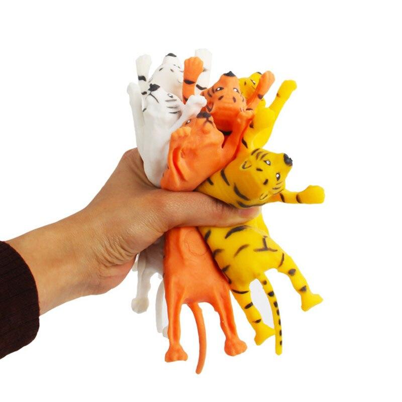 Тигр фиджет сжимаемые животные тянущиеся сенсорные игрушки для Aldult Дети Мальчики Девочки тоже Редкие крутые вещи Забавный подарок