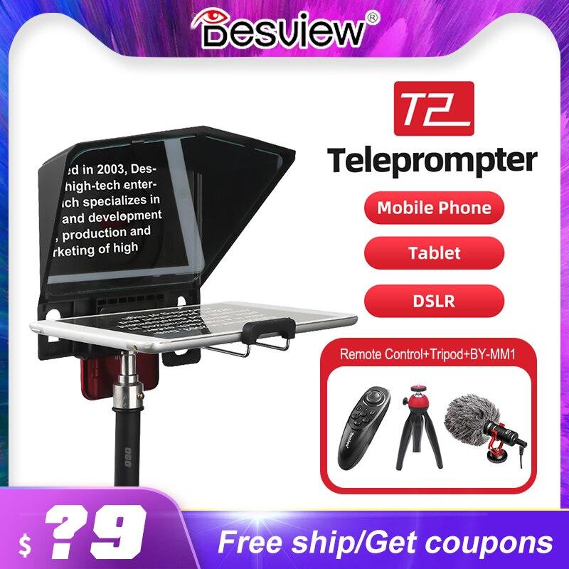 Bestview-minigrabador portátil T2 para Tablet, iPad, DSLR, cámara, vídeo