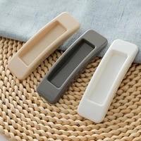new 2pcsset self adhesive plastic sliding door pull window handle cupboard cabinet kitchen drawer knobs
