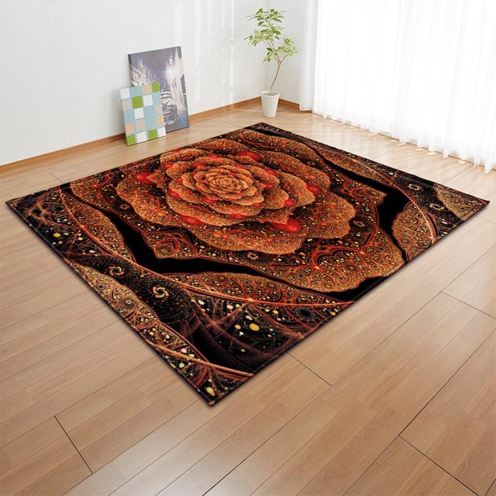 Alfombra nórdica para sala de estar, alfombra de habitación infantil 3D, alfombra antideslizante para niños, alfombra para decoración de dormitorio, pasillo, alfombra para los pies de la cama