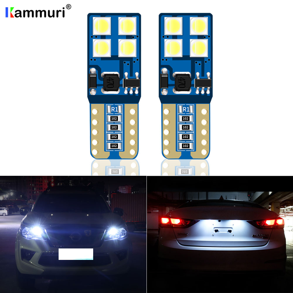2X T10 LED luz de estacionamiento para Nissan Primera P12 Xterra patrulla y60 y61 y62 de Teana j32 j31 Qashqai J11 J10 X-Trail T30 T31 T32