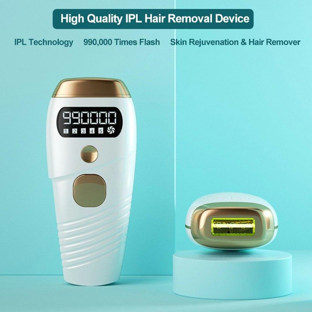 W-1092 990000 فلاش آلة إزالة الشعر بالليزر IPL آلة إزالة الكوارتز مصباح دائم 5 مستويات الوجه الجسم الشعر المتقلب لنزع الشعر