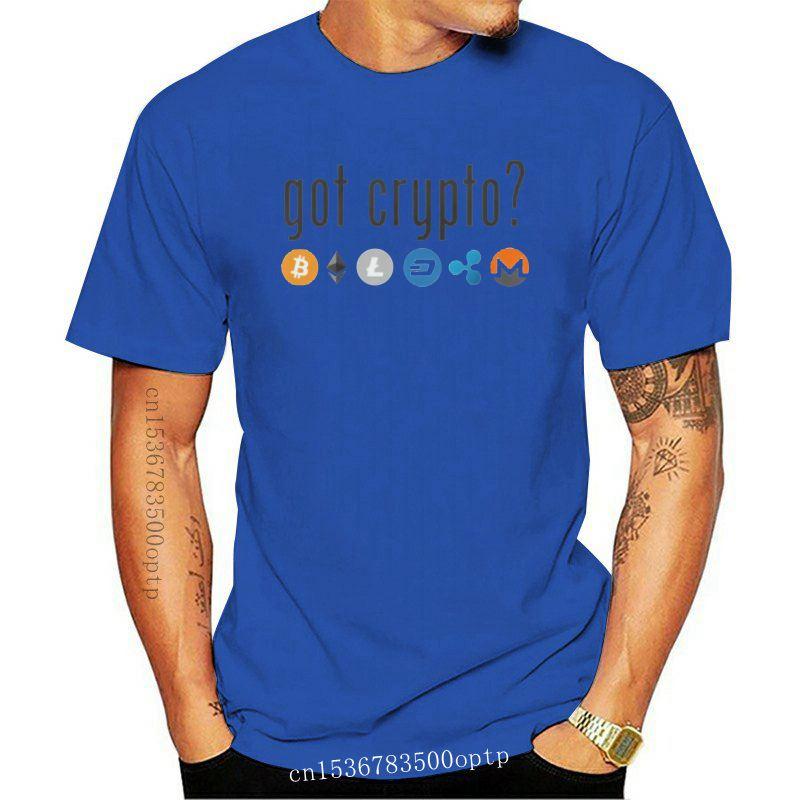 New 2021 Printed Men T Shirt Cotton Short Sleeve got crypto Bitcoin and Altcoin shirt Women tshirt