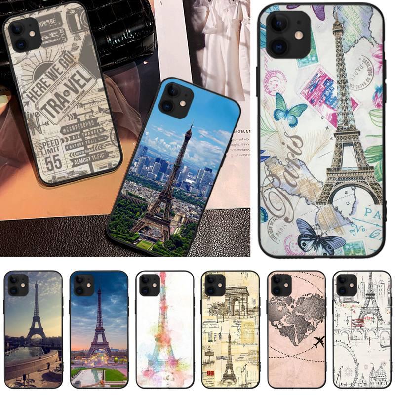 LJHYDFCNB برج خلفية Coque شل جراب هاتف ل iphone6 6s زائد 7 8 7 8 plus X XR XS ماكس 11 برو ماكس الغلاف