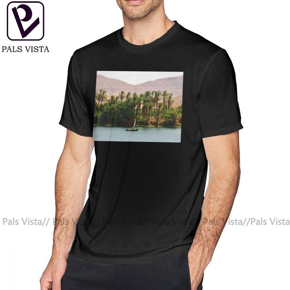 Nile T Shirt Nile T-Shirt 4xl Print Tee Shirt Men Awesome Summer 100 Cotton Short Sleeves Tshirt