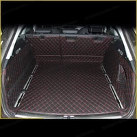 lsrtw2017 leather car trunk mat cargo liner for audi a6 2011 2012 2013 2014 2015 2016 2017 2018 2019 2020 allroad avant c7 c8