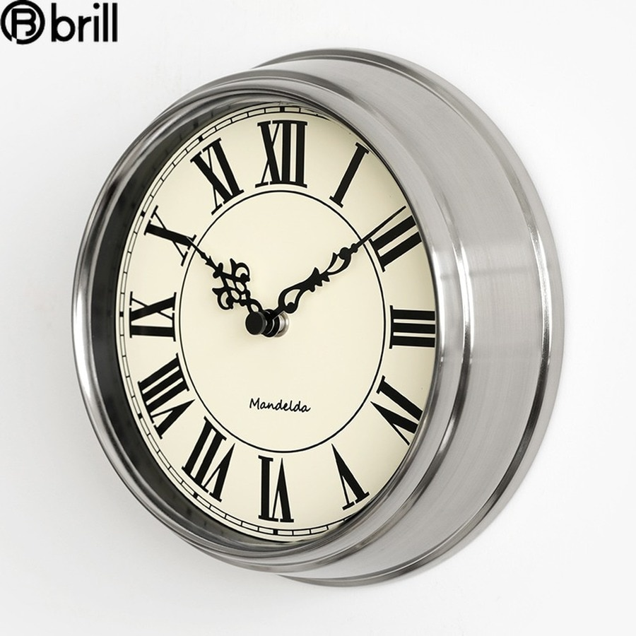 Luxury Living Room Wall Clock Modern Design Metal Clocks Retro Creative Big Gold Wall Watches Home Decor Reloj Mural Vintage