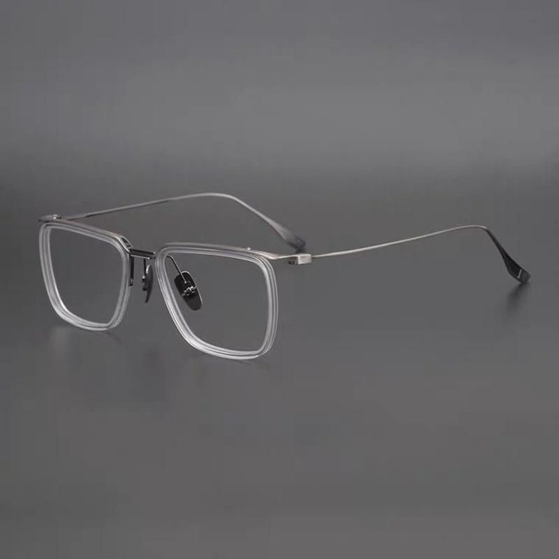 الأوروبية الكلاسيكية مربع الإطار العلامة التجارية نظارات الرجال وجه كبير شخصية تصميم النظارات النساء وصفة طبية نظارات DTX106