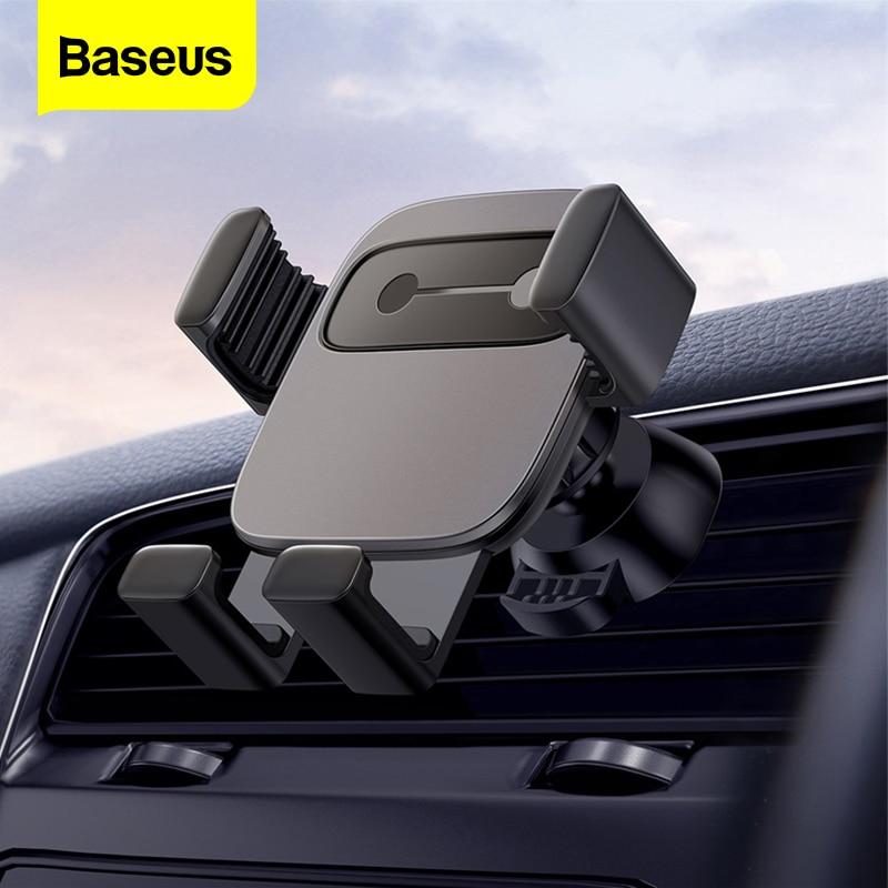 Baseus Gravidade Suporte Do Telefone Do Carro Para o iphone Samsung Suporte do Telefone Móvel Do Carro Montar Titular Para O Telefone no Carro Suporte Para huawei Xiaomi