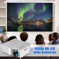 Mini projecteur LED Portable Full HD 1080P  pour Home cinema  NC99