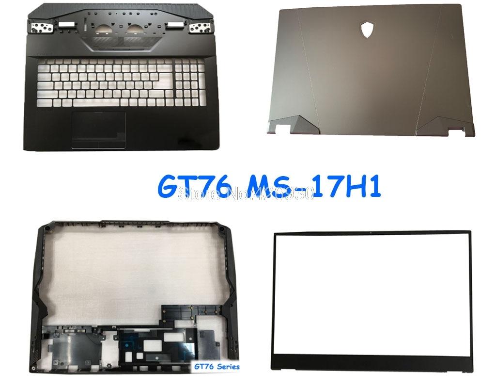 Caja inferior para MSI gt76 Titan DT 9SG gt76 MS-17H1 3077H1A211Y31 3077H1D211D37 cubierta superior del bisel Palmrest