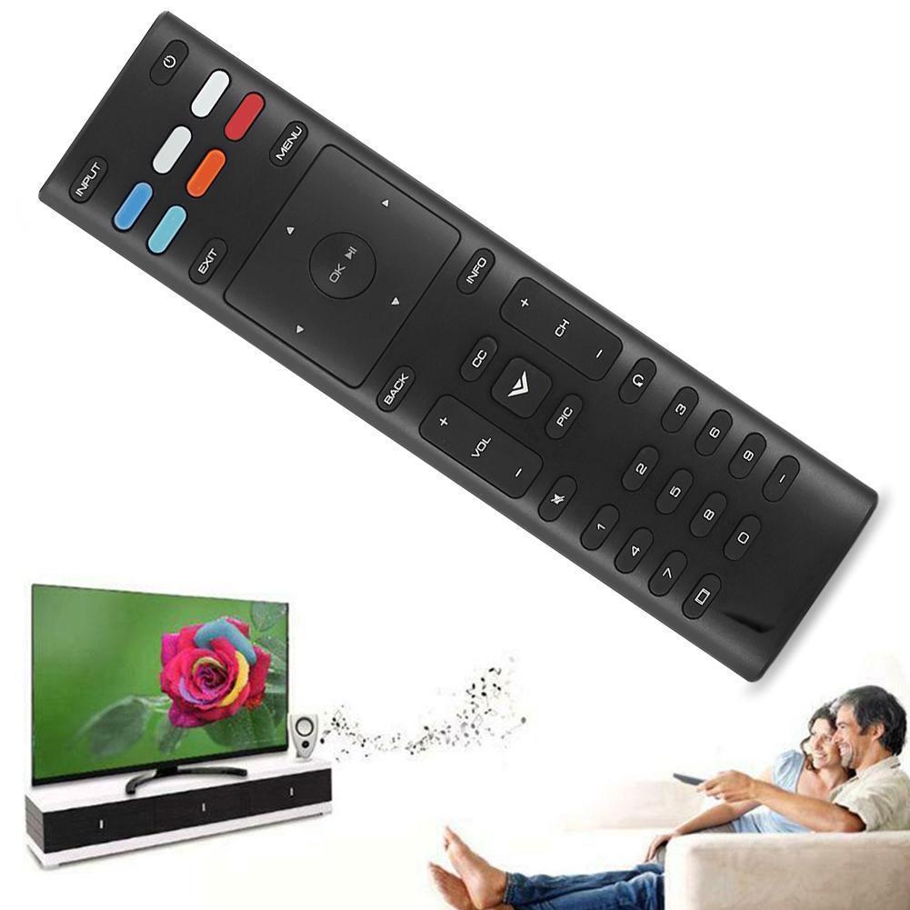 7 Polegada Controle Remoto Para TV Vizio XRT136 D24F-F1 M55-E0 D43F-F1 M65-E0 Atalhos Com App D50F-F1 M50-E1 G1S5