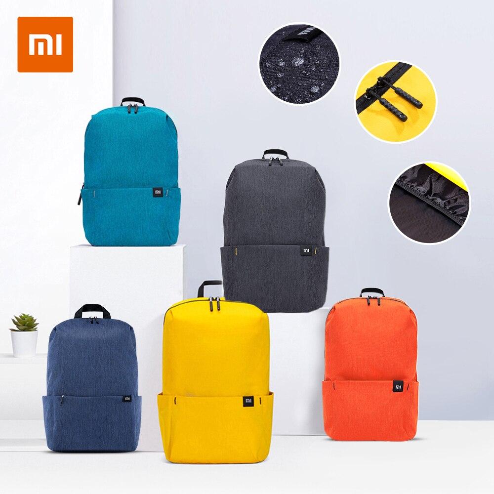 Xiaomi Mi 캐주얼 백팩 10L 오리지널 Mi 레저 스포츠 가방 경량 어반 유니섹스