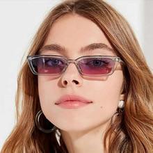 New Fashion Vintage Sunglasses Women Brand Designer Retro Rectangle Sun Glasses Female Ins Popular C