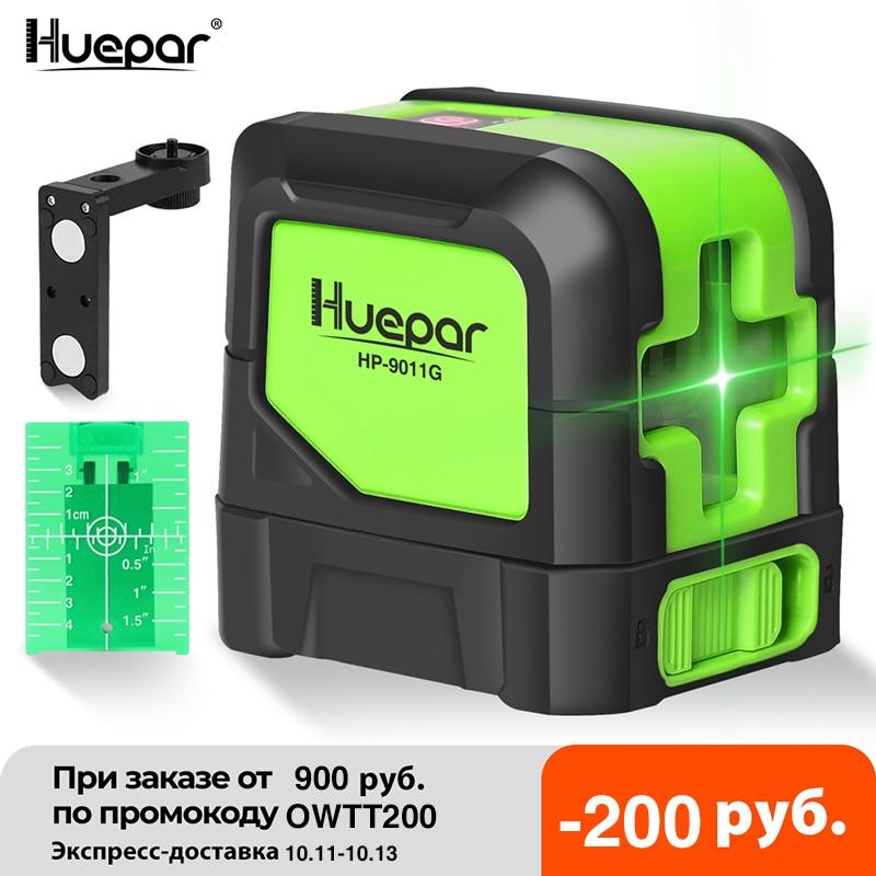 Huepar-أداة معايرة بالليزر, ميزان تسوية ، شعاع ليزري أفقي ورأسي ، قاعدة مغناطيسية ، أربع درجات ، جهاز تسوية ، أشعة، ذاتي