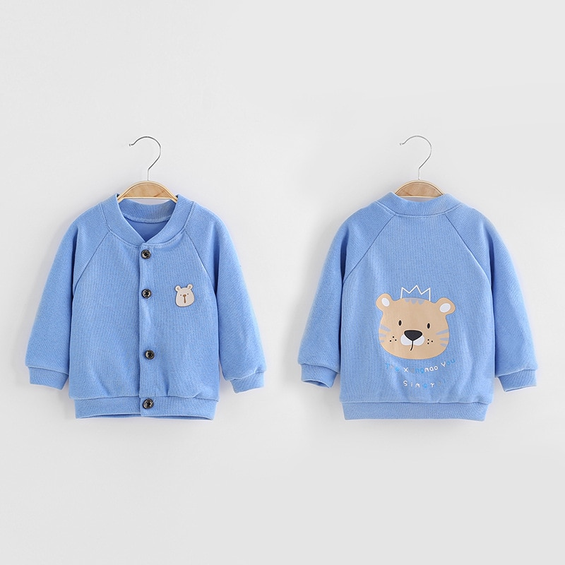 1-5 Years Children Girls Knitted Cardigan Sweater Spring Autumn Baby Clothing Boy Girl Candy Colors Sweaters Kids Outerwear Coat
