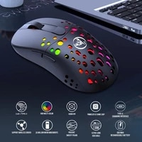 dual mode mouse rgb glar mouse 2 4g wiredwireless computer mause led backlit ergonomic gaming mouse for computer laptop pc mac