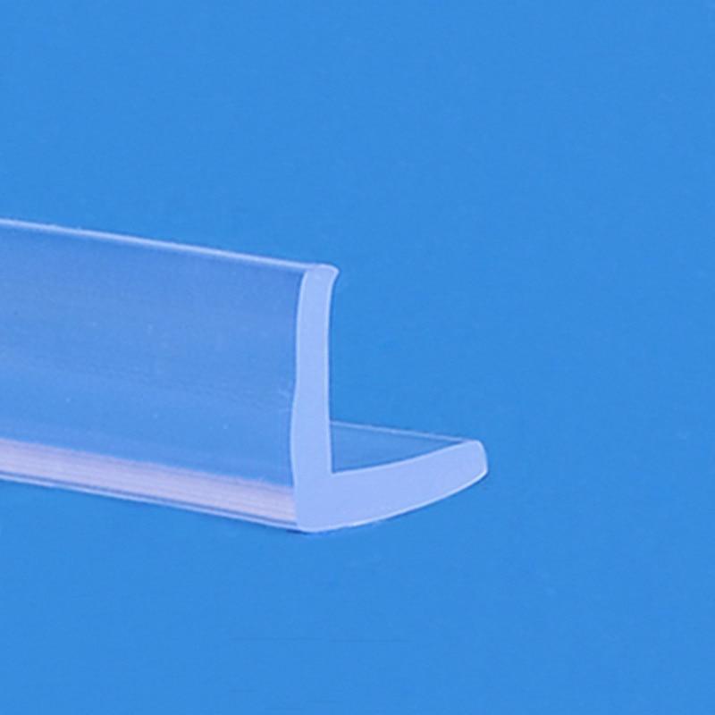 Protector de esquina de ángulo de goma, protector de borde, Junta anticolisión, tira L, 10x10mm, 20x10mm, 30x30mm, 45x30mm, transparente