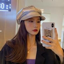 Beret Korean-Style Trendy Autumn Winter Hat Women's Octagonal Cap New 2020 Internet Celebrity Fashio