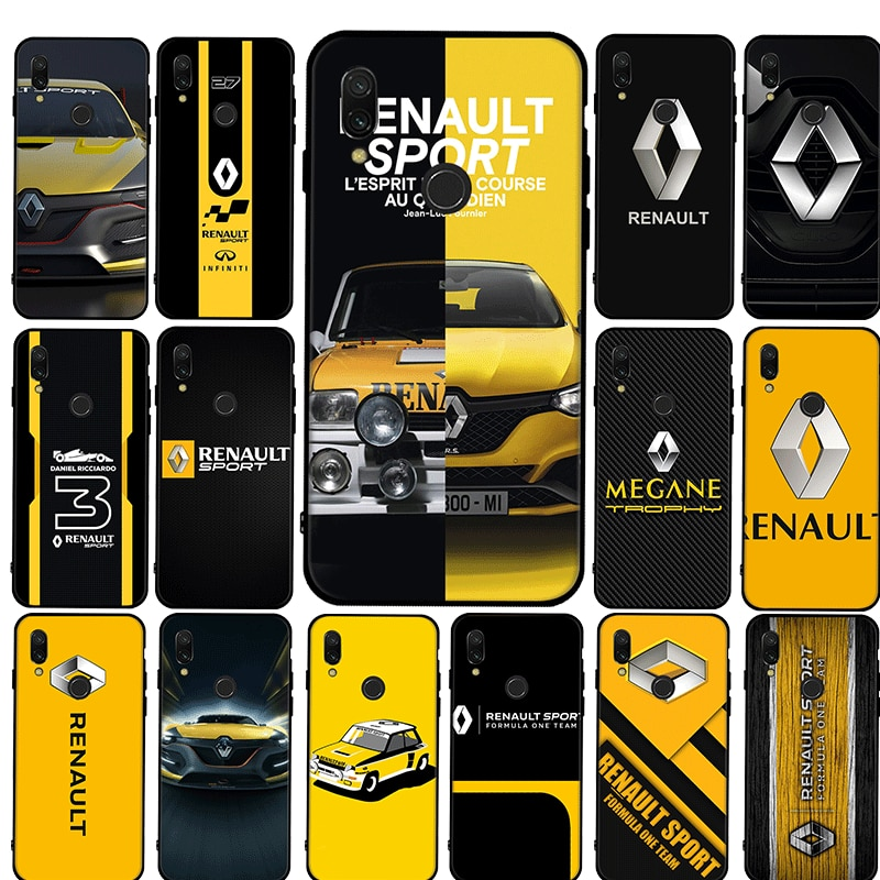 Car Of Renault Couple Silicon TPU Cover For Xiaomi Redmi K30 Pro Poco X2 Note 4X 5 6 7 8 Pro 5A Prim
