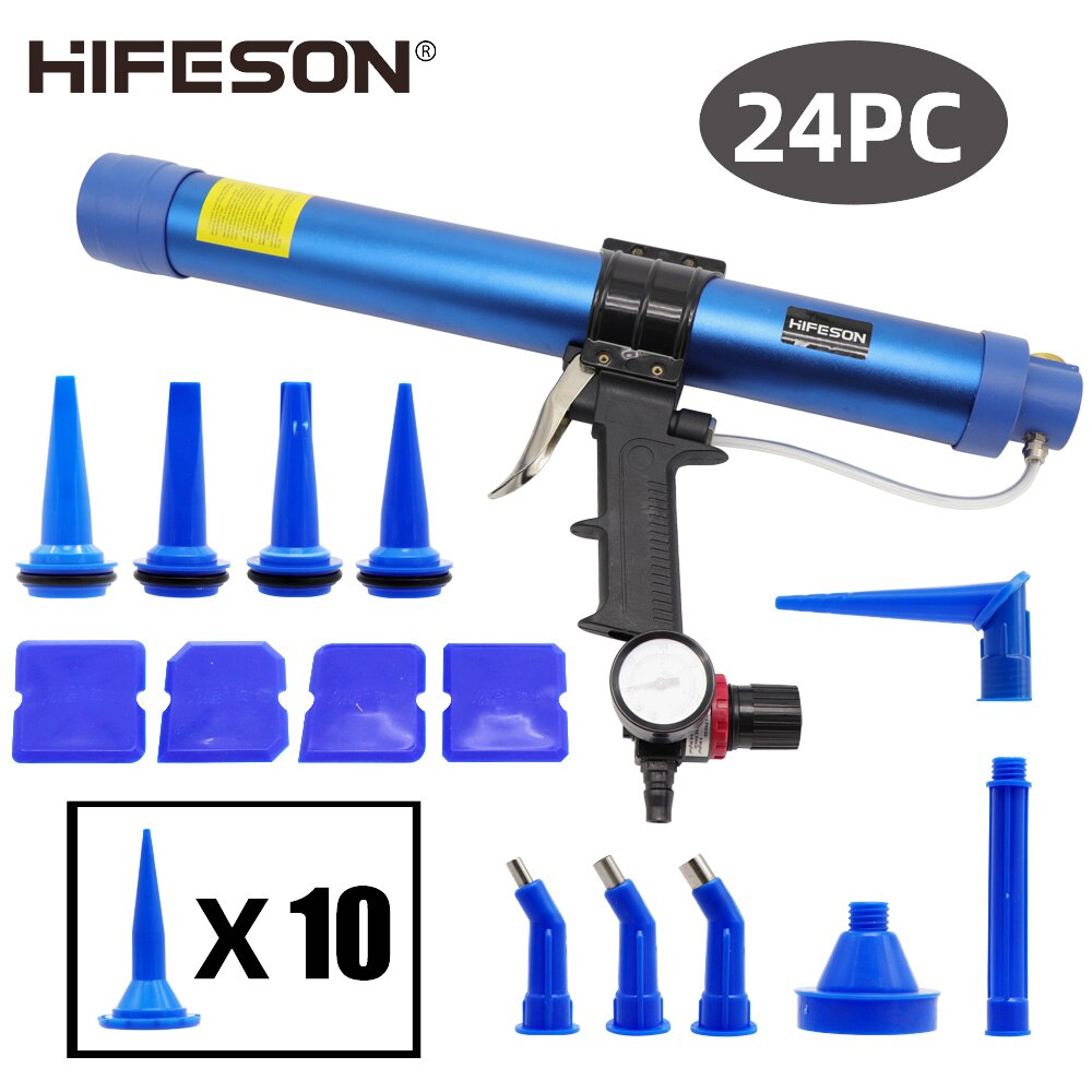HIFESON هوائي ختم بندقية 400/600 مللي مسدس هواء صمام سيليكون السجق السد أداة السد فوهة الزجاج المطاط الحشو أداة