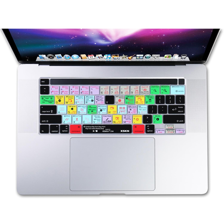 XSKN Ableton-funda de teclado de cortes en vivo para MacBook Pro, 16...