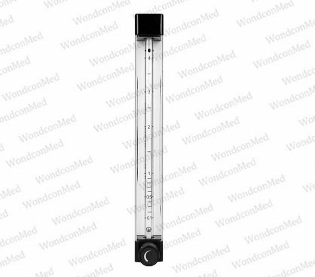 Wondcon Anesthetic  5L Single O2 flowmeter for anesthesia machine