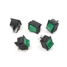 5 PCS Lampe 4 Pin AUF/OFF 2 Position DPST Rocker Schalter 16A/250V 20A/125V KCD4-201 Hohe Qualität