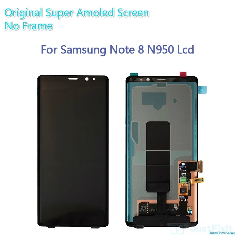 Original For Samsung Galaxy Note8 Note 8 N9500 N950FD N950U Defect Lcd Display Touch Screen Digitizer Assembly 6.3