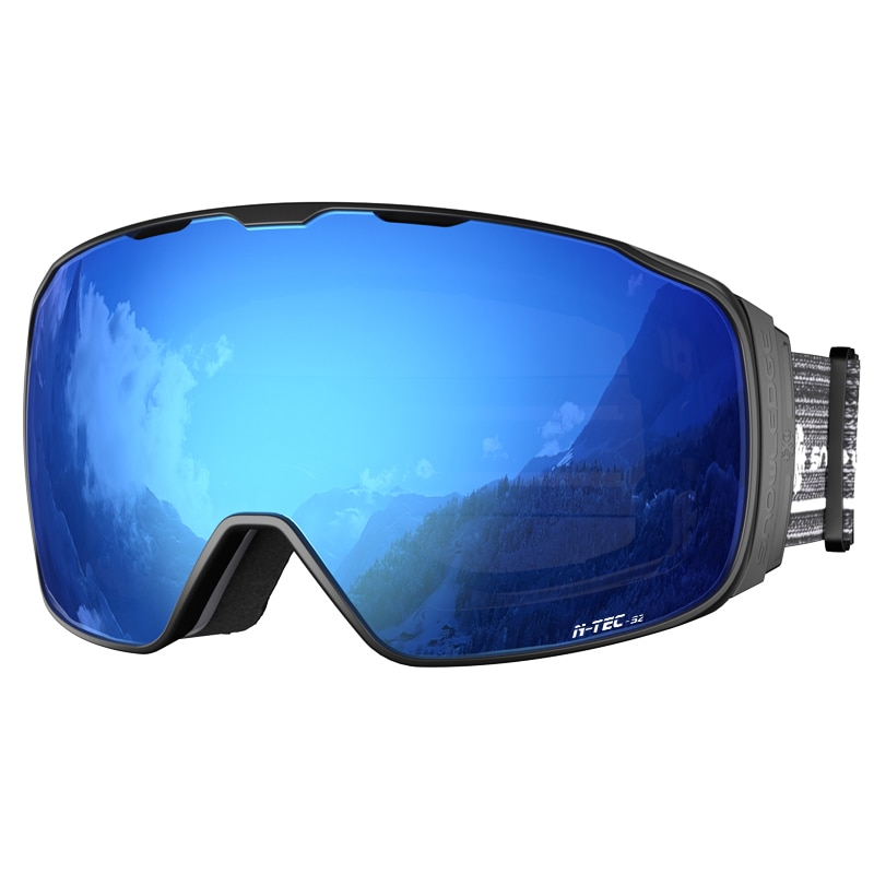 Polarized Outdoor Ski Glasses Double Snowboard Goggles High Definition Ski Glasses Magnetic Gafas De Ski Skiing Eyewear EF50SG