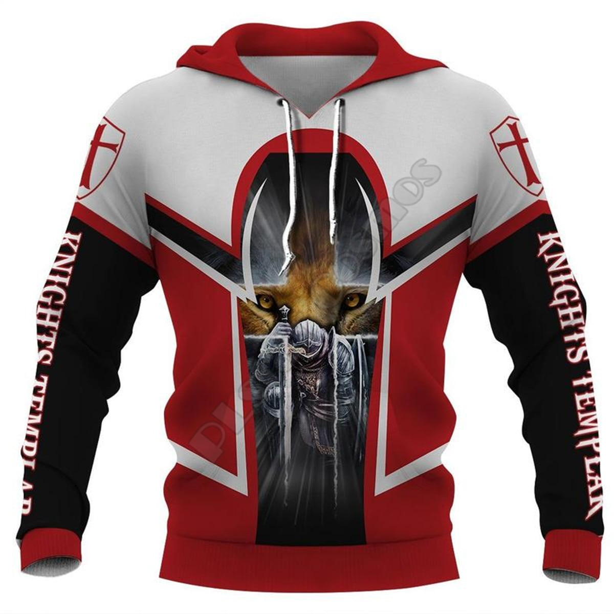 Knight Templar Armor 3D All Over Printed Hoodies Fashion Pullover Men For Women Sweatshirts Sweater Cosplay Costumes 11