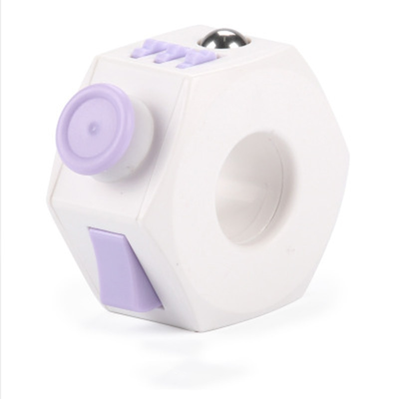 Figget Rings Toy Press Magic Anti Stress Relief Cube EDC Hand For Autism ADHD Anxiety Relief Focus Kids Anti-Stress Fidget Toys enlarge