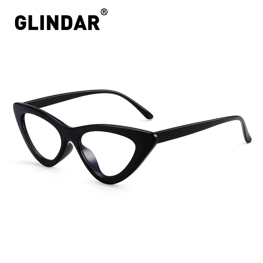 Glindar, Ojo de gato, luz azul, gafas de bloqueo, Marco para mujeres, Vintage, Anti azul, luz, gafas de ordenador, gafas