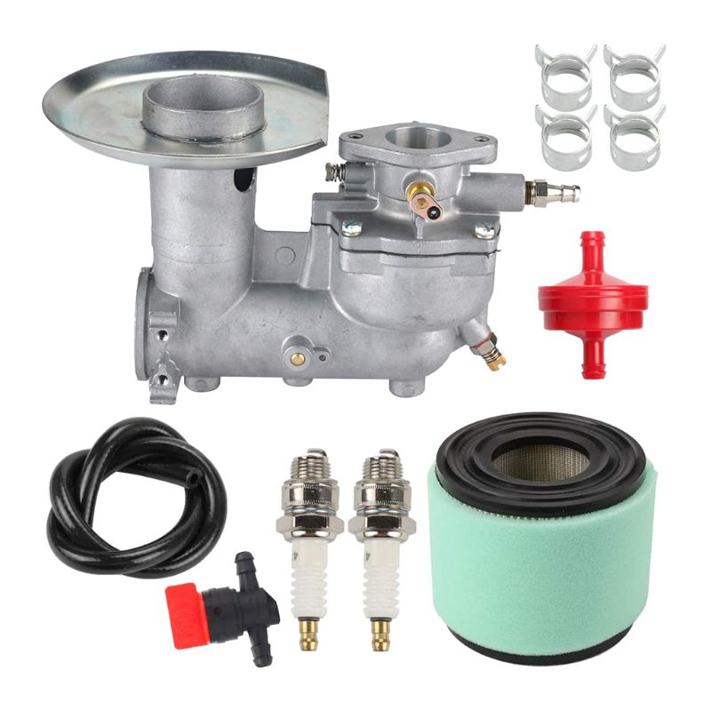 Carburador + Filtro de ar + Linha de Combustível Braçadeira para 391065 Filtro Motor 392587 391074 T4mc