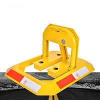 Outdoor second-hand waterproof manual parking barrier parking lock parking space saves space car parking barrier