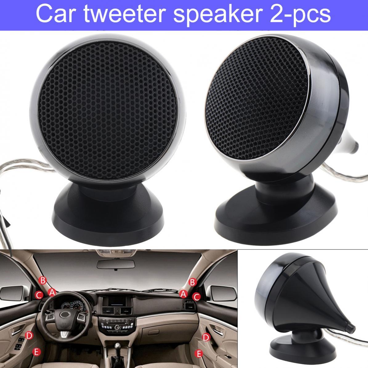 2pcs 150 w 12 v alto-falante alto-falante alto-falante de alta frequência do tweeter do carro da abóbada mini para o sistema audio dos carros