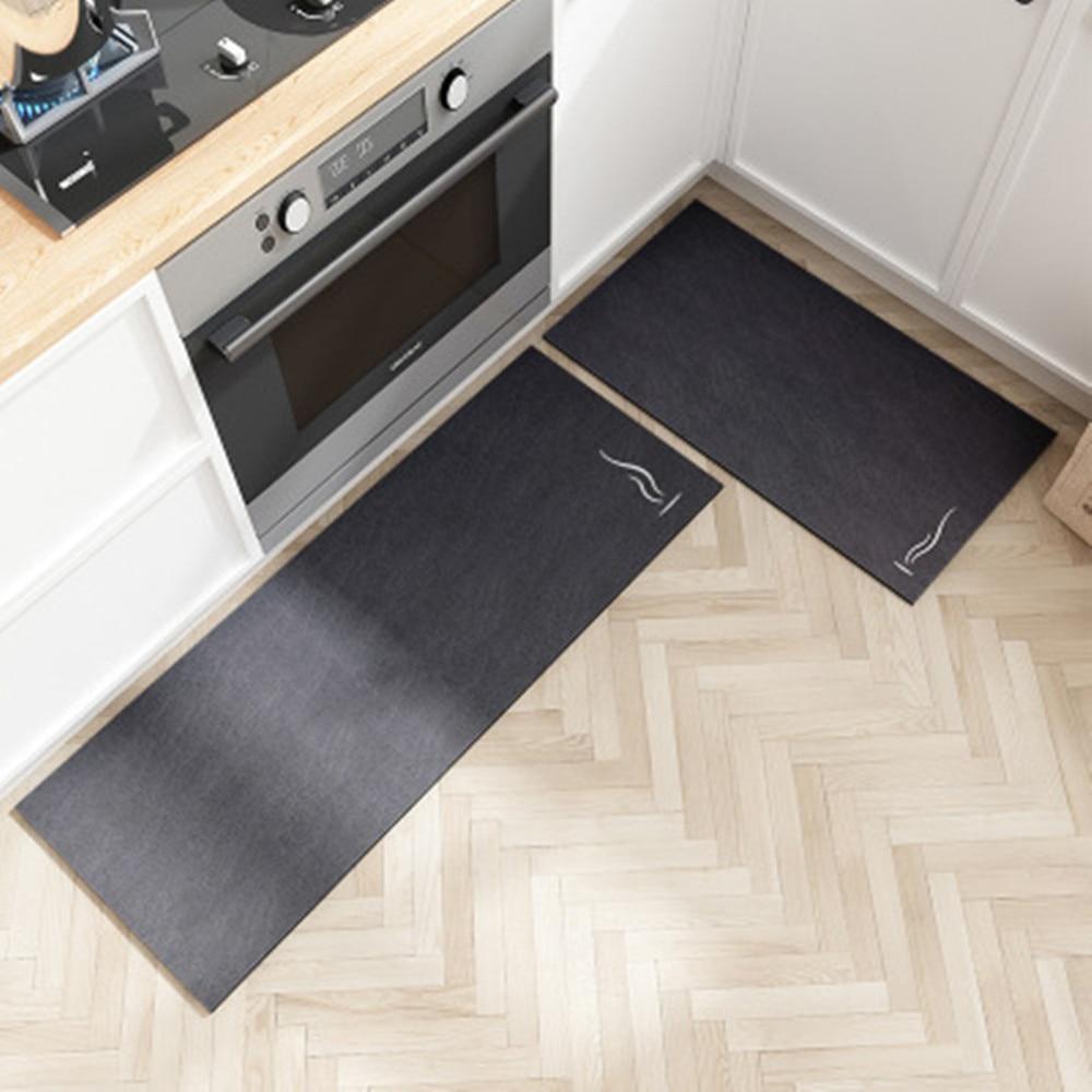 عدم الانزلاق الحصير قابل للغسل للمطبخ ، الحمام ، الباب الأمامي ، غرفة نوم ، غرفة المعيشة وطاولة السرير