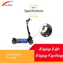Phare commode de sécurité légère forte pour le Scooter électrique longue durée de vie ligne claire accessoires de Scooter adulte de Frontlight